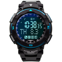 Sport Smart Horloge Mannen Quartz LED Backlight Stopwatch 100 M Waterdicht voor iphone X 8 S 7 Android IOS 6.0 Mobiele Telefoon APP