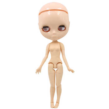 factory blyth doll toy joint body bald head doll without eyechips, the scalp is loose, scalp without glue 30cm