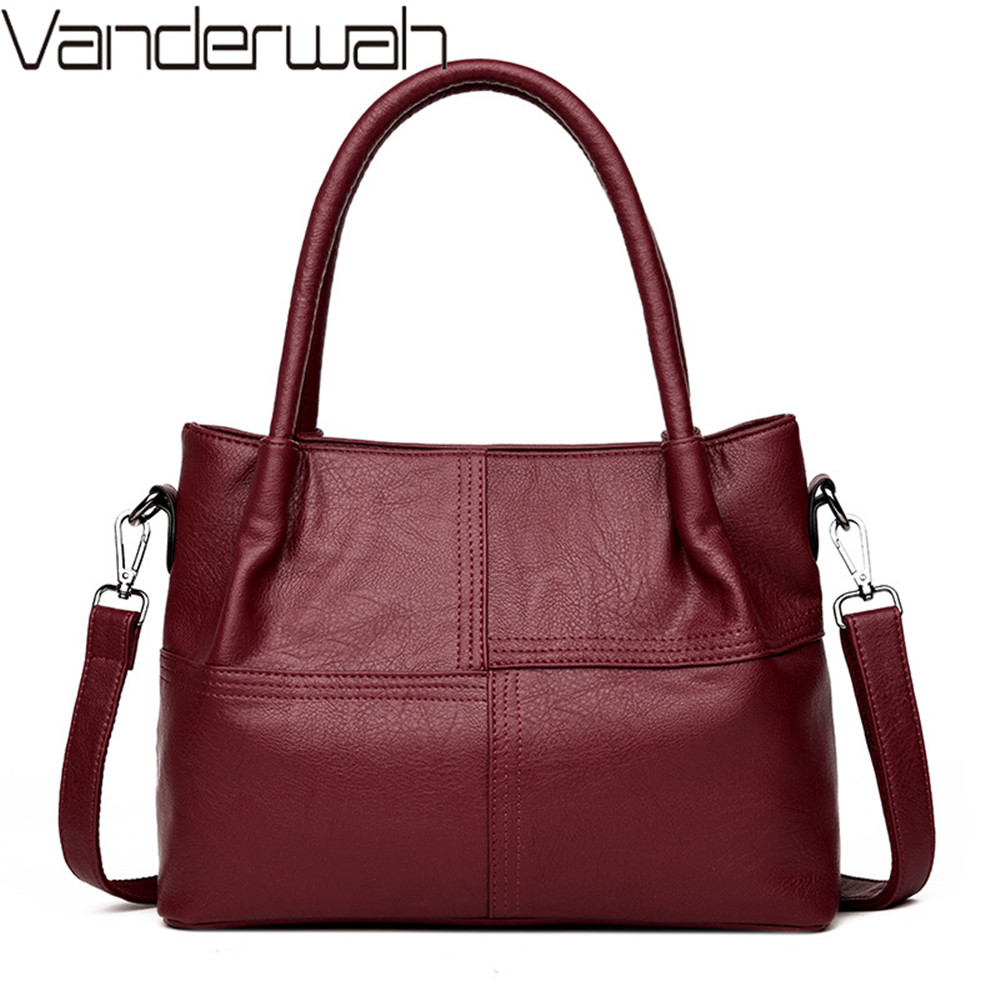 Women Leather Handbags Women Messenger Bags Designer Crossbody Bag Women Tote Shoulder Bag Top-handle Bags For girls sac a main foroch brand women bag top handle bags female handbag designer hobo messenger shoulder bags evening bag leather handbags sac 352