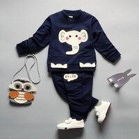 Yueyue kedi bebek çocuk giyim setleri uzun kollu t-shirt + pantolon nova erkek kız elbise setleri moda desen kız giysileri
