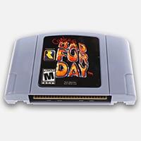 Conker плохой Мех животных день Английская Литература для 64 бит США версия видео игры Картридж консоли