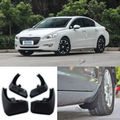 4pcs Front+Rear Flaps Flag Splash Mud Guards Protective Fender For Peugeot 508
