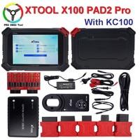 High Quality XTOOL X100 PAD2 Pro Wifi & Bluetooth Professional Diagnostic Tool/key programmer Immobilizer/Odometer adjustment