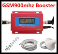 LCD Display GSM 900Mhz Mobile Phone GSM980 Signal Booster , Cell Phone GSM Signal Repeater + 13dBi 5 units Yagi Antenna + Cable