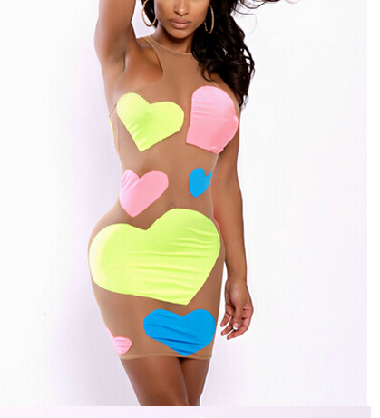 Aliexpress.com : Buy Homecoming Dresses The Neon Love Illusions ...