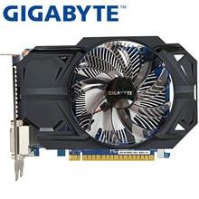 Gigabyte placa gráfica original gtx 750 2gb, 128bit gddr5 placas de vídeo para nvidia geforce gtx750 hdmi dvi usado vga cartões à venda