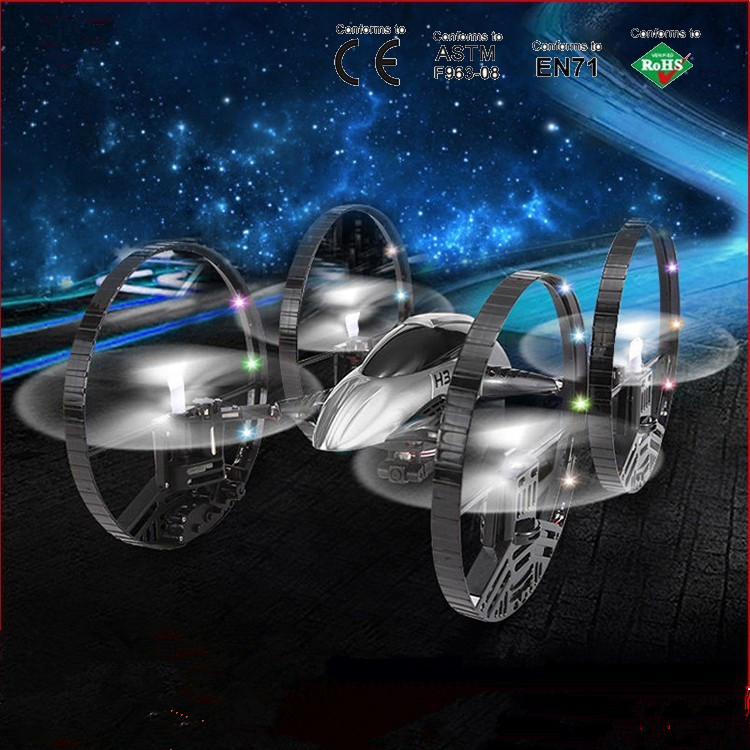 Free shipping H3-2 RC drone HD camera for aerial photo helicopter 4 axi with LED light Quadcopter VS x8w V686 best toy free shipping fation drone with cool light helicopter 2 4g 4channel 6axis gyro stunt tumbling radio rc quadcopter toy vs cx 31