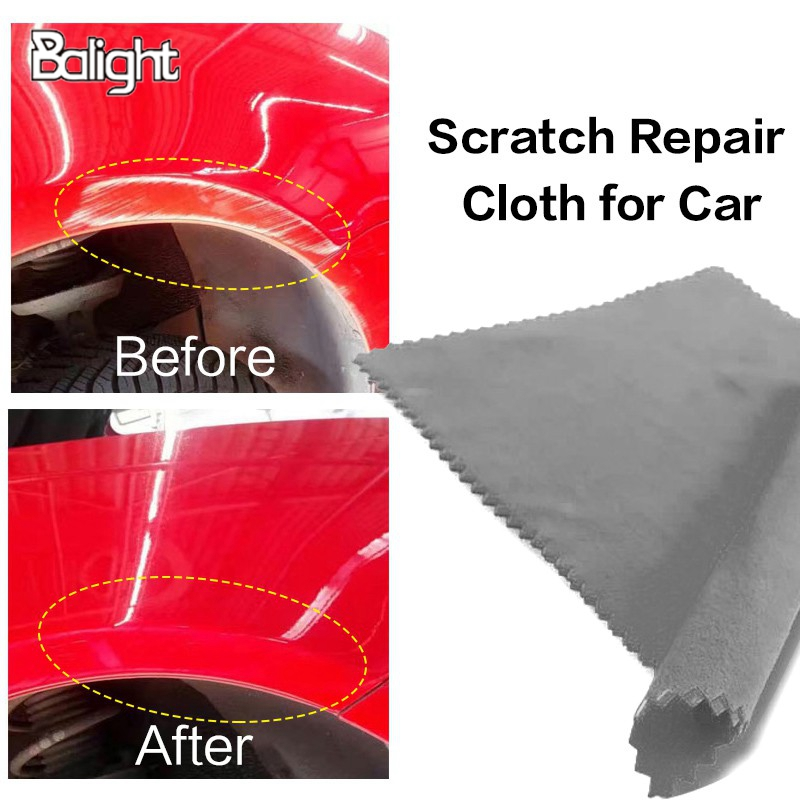 Balight Fix Clear Car Scratch Polish Cloth for Car Light Paint Scratches Remover Scuffs on Surface Repair