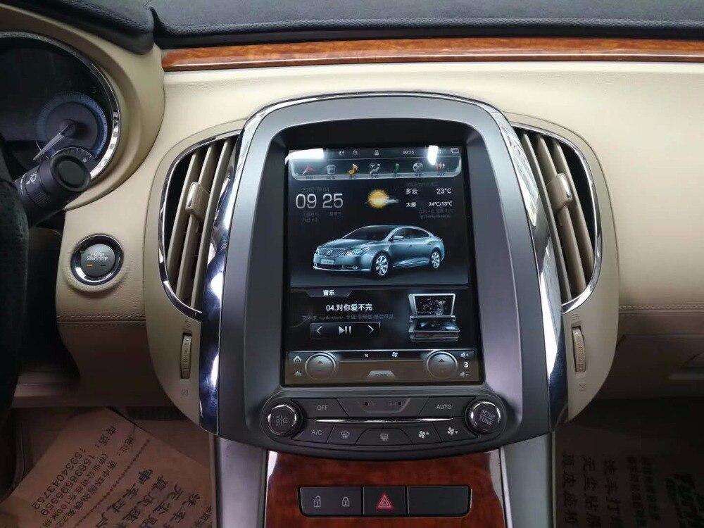 LaiQi 10.4 Quadcore Voiture lecteur DVD 1280x768 Vertical Écran Tesla style 32 gb ROM Stéréo GPS de Navigation radio pour Buick Lacrosse