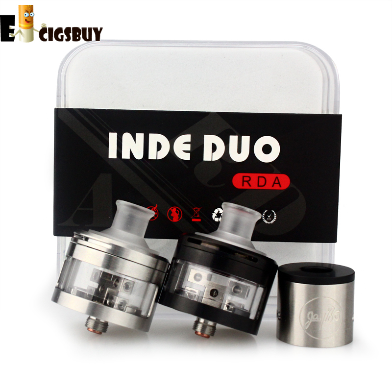 Wismec INDE DUO RDA Atomizer Airflow Control with Unique Vortex Flow Design Atomizer with 22mm and