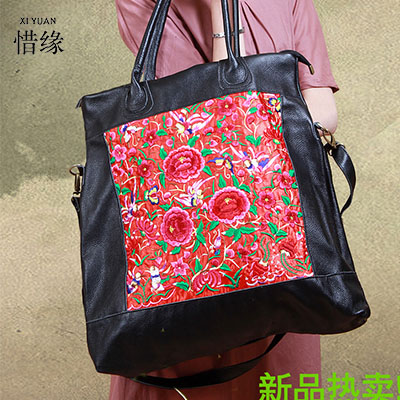 luxury Chinese Style Women Handbag Embroidery Ethnic Summer Fashion Handmade Flowers Ladies Tote Shoulder Bags Cross-body Bags 100 super cute little embroidery chinese embroidery handmade art design book