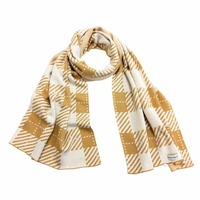 Knitbest 2016 Winter Scarf Women Plaid Scarves Top Quality Blankets Soft Cotton Winter Shawl Warm Stripe