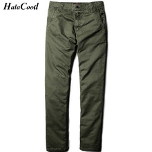 Hot Sell New Fashion Sexy Quality Brand Plus Size 38 Cotton Pants Casual Men Clothing Military Army Green Pants Mens Joggers Fat(China)