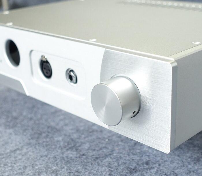 Nouveau boîtier amplificateur en aluminium châssis puissance casque bricolage boîtier W350 H80 L258