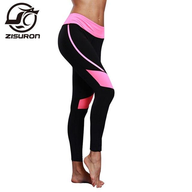 00bad2bcf294 Fitness Yoga Sports Leggings For Women Sports Tight Mesh Yoga Leggings Yoga  Pants Women Running Pants Tights for Women E303