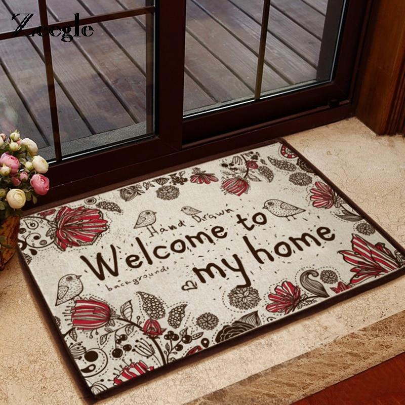 Zeegle Entrance Door Mats Floor Mat Anti slip Mats For Bath Bathroom Rugs Kid Bedroom Carpets