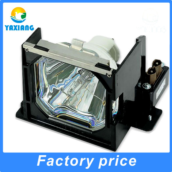 Replacement projector lamp LMP67 / 610-306-5977 with housing for  PLC-XP55L PLC-XP5500C PLC- XP5100C projector lamp with hosuing lmp136 610 346 9607 for plc xm150 plc wm5500 plc zm5000l plc xm150l