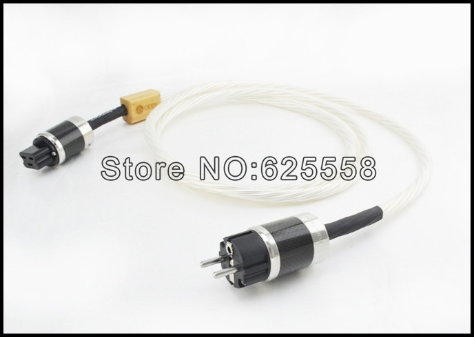 Free shipping 2meter/pieces Nordost Odin Power cable Odin power cord with  EU version FI-50M / 20A power plugs цена и фото