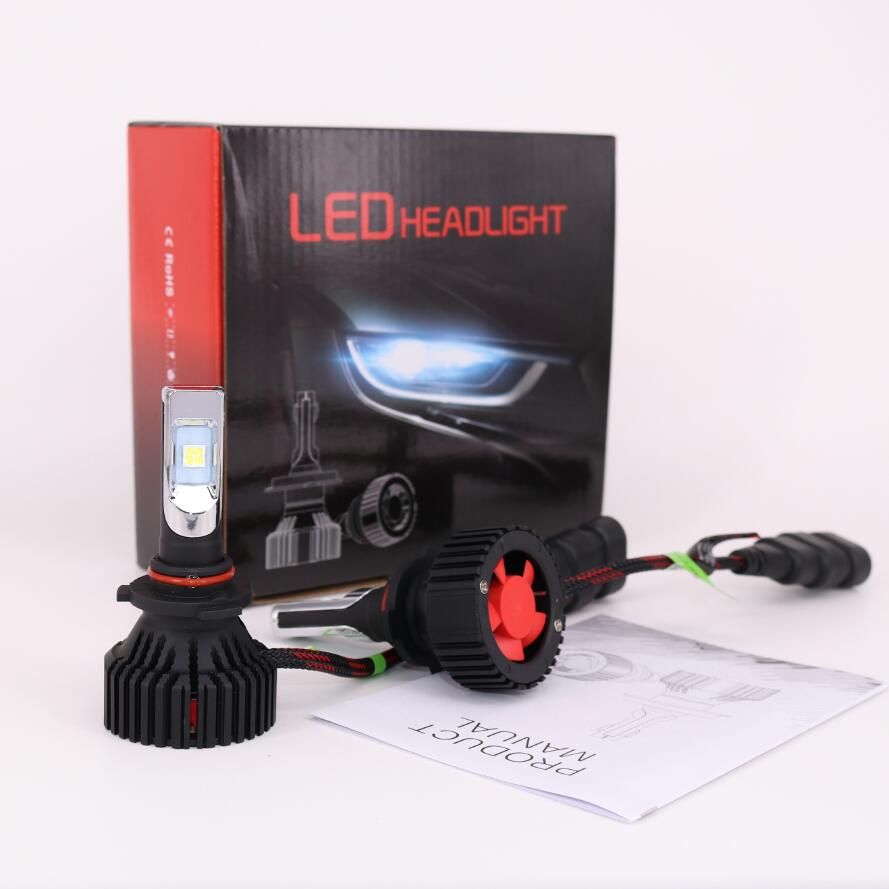 TOYIKIE 1Set T8 9005 HB3 9006 HB4 60W 8000lm For CREE CHIPS XHP50 Car LED Headlight Kit 6500K ALL IN ONE DRL Driving Lamp 50