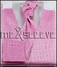Free shipping Wholesale new Men wedding Bridegroom waistcoat 4pcs