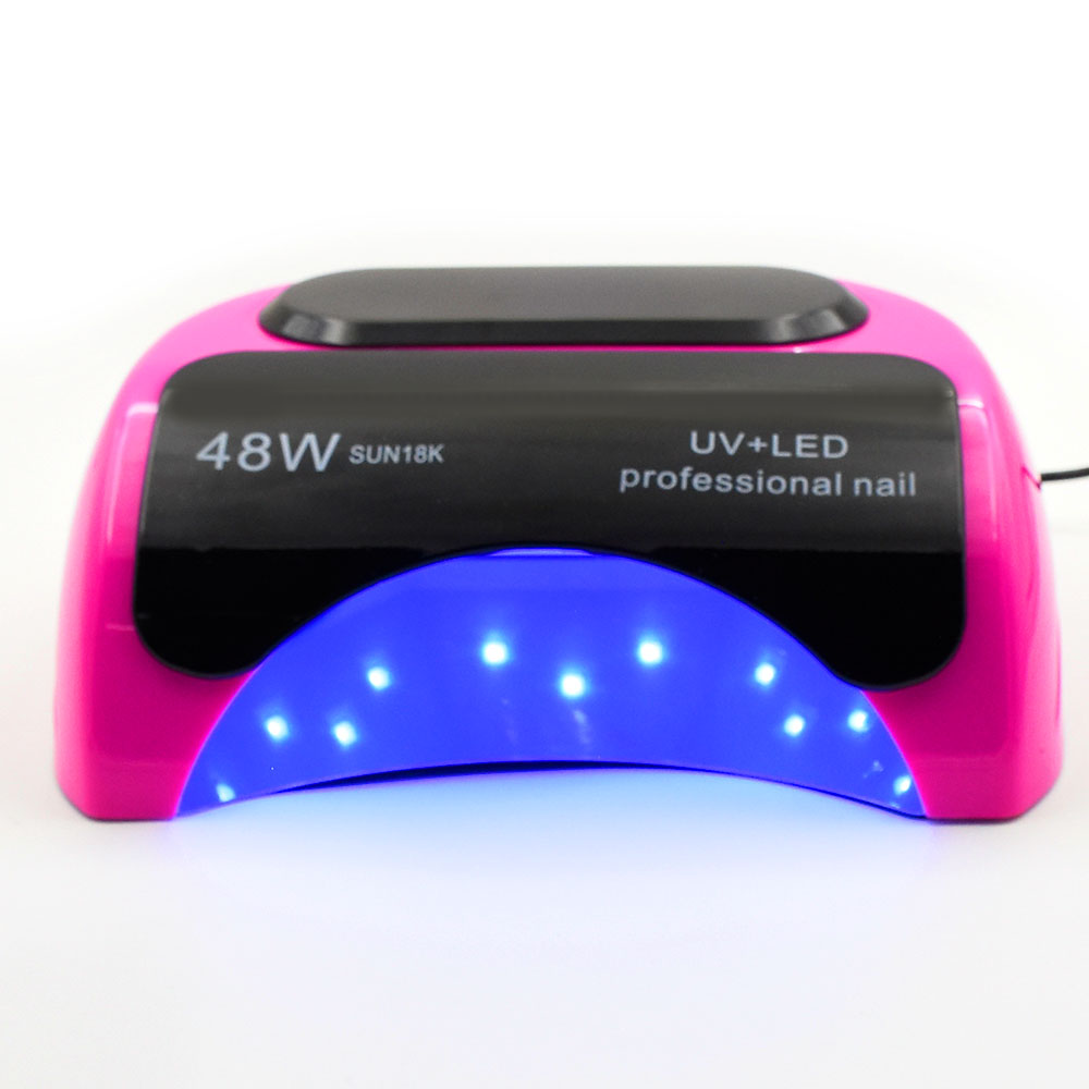 48W CCFL+LED UV Lamp Light for Curing Nail Gel Polish Automatic Sensor Nail Lamp LED Nail Dryer For Nails Art manicure Tools 24 48w smart sensor nail dryer uv lamp curing light nail art tools polish drying led eu us plug nail lamp light manicure