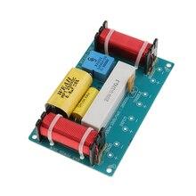 Filtro de Audio de 3 vías 1P, altavoz de graves, divisor de frecuencia cruzada, diseño razonable, componentes electrónicos de alta calidad