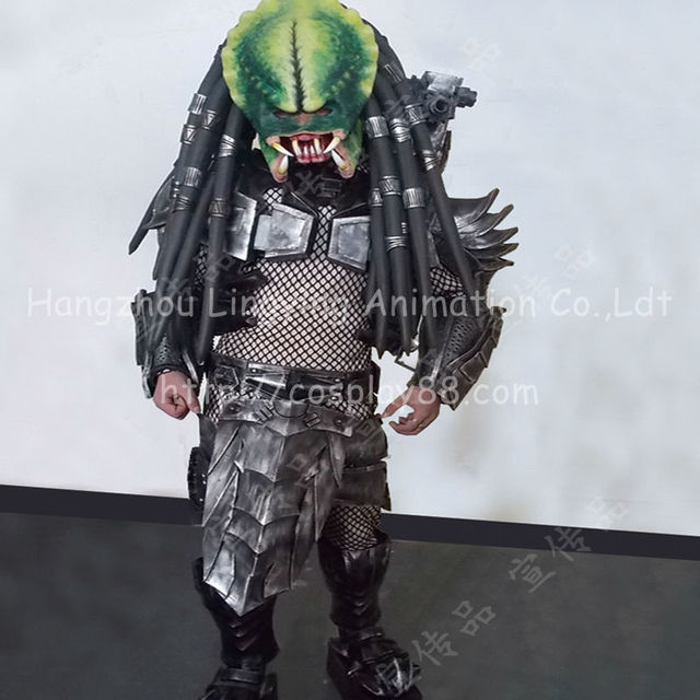 Cosplay Adult Costume Alien VS Predator Costume Full Set of Armor Predator COS Prop Carnival Costume & Cosplay Adult Costume Alien VS Predator Costume Full Set of Armor ...