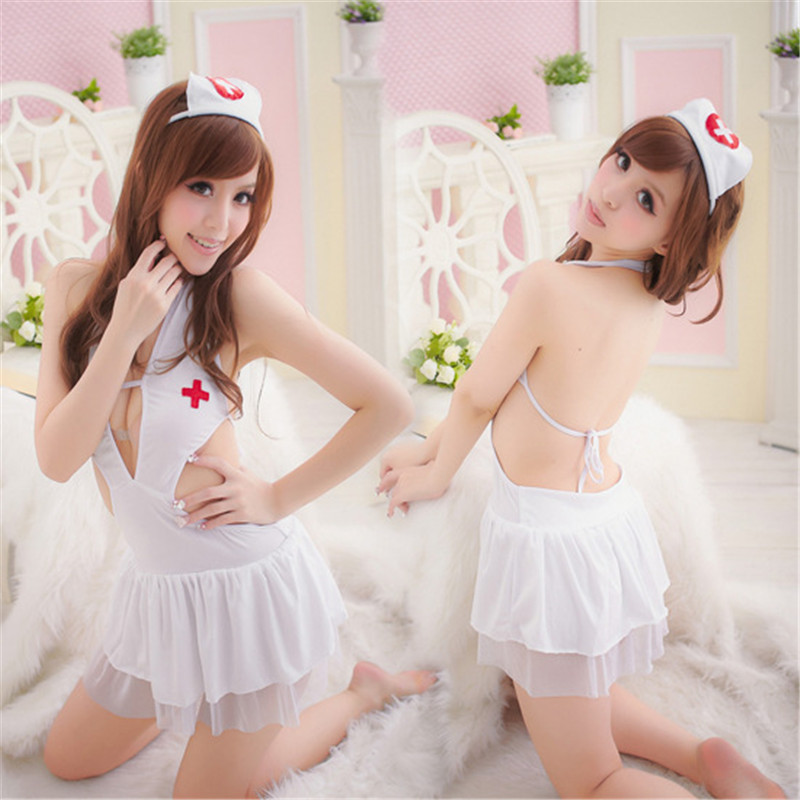 Porn Hot Erotic Sexy Nurse Costumes Uniform Sexy Women Lingerie Sexy Hot Erotic Nurse Costume Doctor Costumes Suit Cosplay Dress