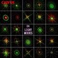 Лазерный светильник с 24 изображениями, уличный водонепроницаемый IP65, радиочастотный контроль, красный, зеленый, Рождественский лазерный пр...