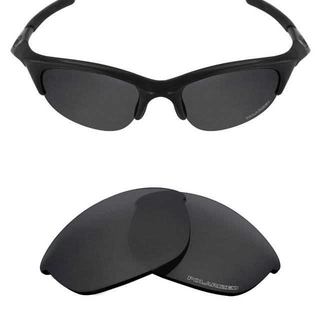 2111a517d Mryok POLARIZED Resist SeaWater Replacement Lenses for Oakley Half Jacket  Sunglasses Stealth Black