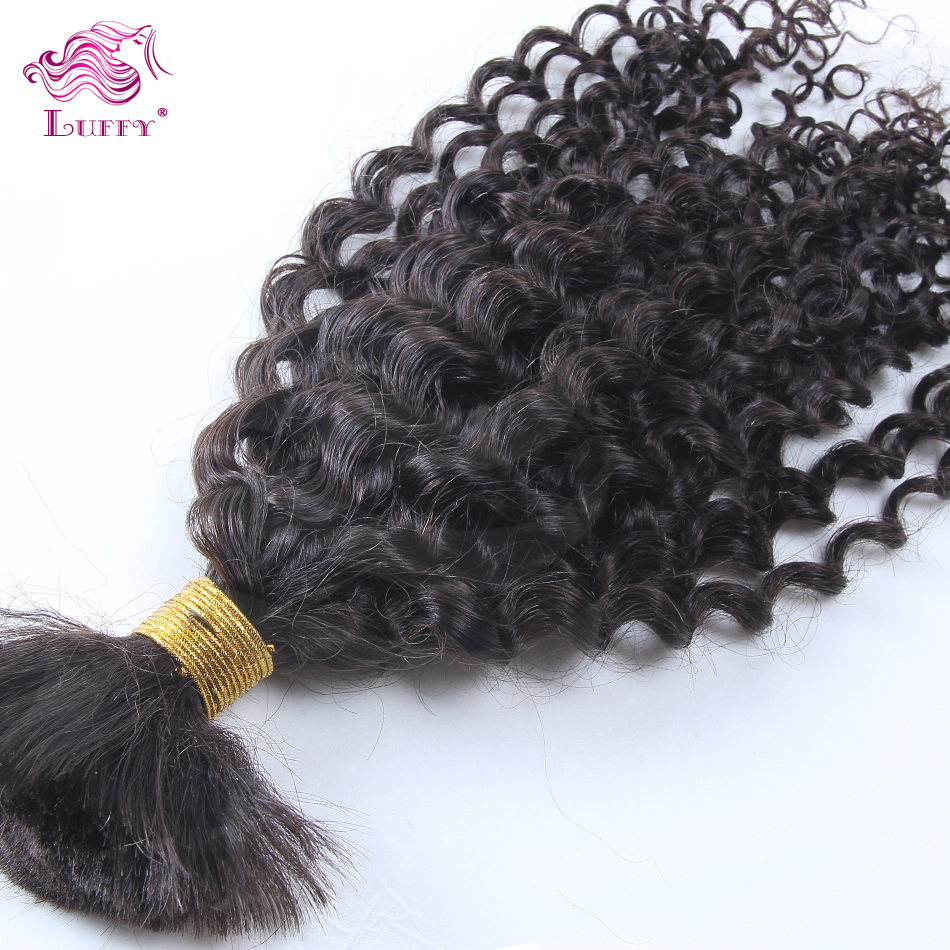Wholesale Price Indian Virgin Hair Curly Human Hair Bulk For Braiding No Weft Virgin Hair High Quality Unprocessed Hair Bundles