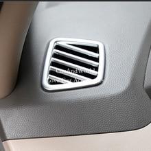 Для HYUNDAI IX35 2010 до 2014 2015 Малый кондиционер на выходе Vent рамка отделка интерьера ABS Chrome автомобилей- стайлинг Аксессуары