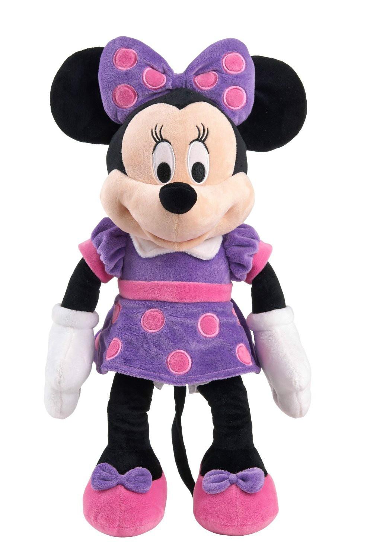 New Minnie Purple Dress Plush For Girls 19 48cm Kids