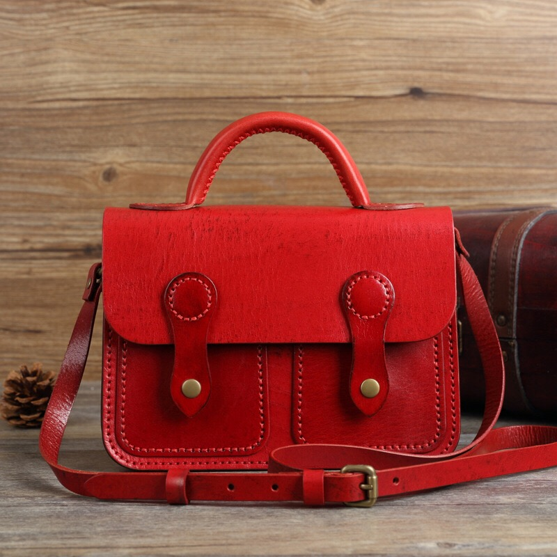 Popular Leather Satchel Bag-Buy Cheap Leather Satchel Bag lots ...