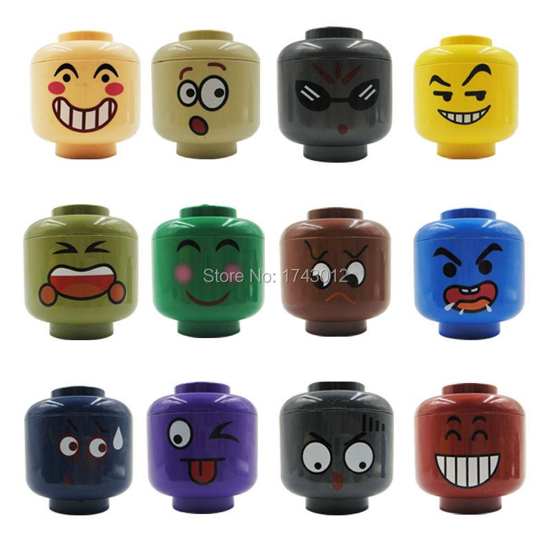 arrival 12pcs/lot Face Expression Random Ninja SY604 Building Blocks Bricks Figures gift action figure toys for children