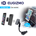 Eugizmo carro magnético Phone Holder Mount suporte com carregador USB para iPhone Samsung HTC Huawei Nokia Xiaomi ect. Smartphones