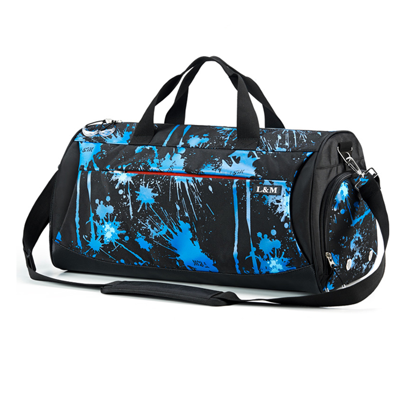 Men Gym Bags For Training Waterproof Basketball Fitness Women Outdoor Sports Football Bag Independent Shoes Storage Sport Bag