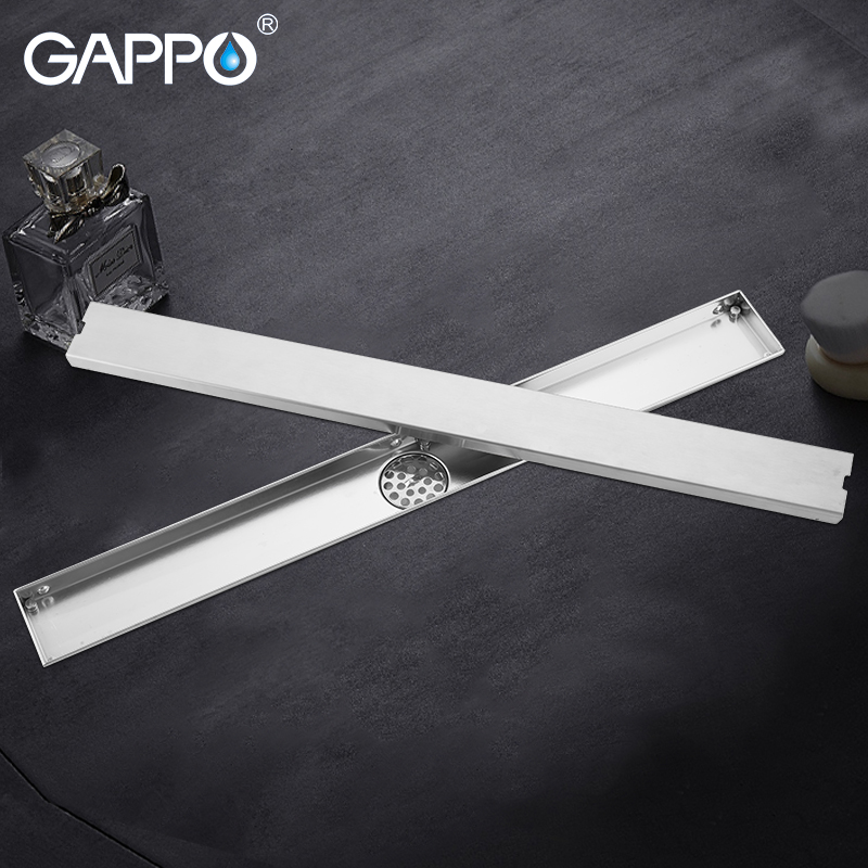 GAPPO Drains stainless steel bathroom shower floor cover drainers bath Floor Drains anti odor Square shower