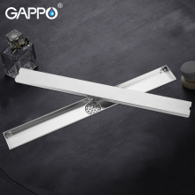 цена на GAPPO Drains stainless steel bathroom shower floor cover drainers bath Floor Drains anti-odor Square shower room