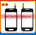 "High Quality 3.2"" For Samsung Wave Y S5380 Touch Screen Digitizer Sensor Front Glass Lens Panel Black White+Tracking Code"