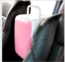 Best 2 в 1 с подогревом и крутой автомобиль холодильник 12 В 4l Портативный Авто Мини-автомобиль круче и теплее автомобиль электрические холодильник