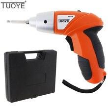 Tuoye перезаряжаемая электрическая отвертка 48 В 110/220 в комбинированные