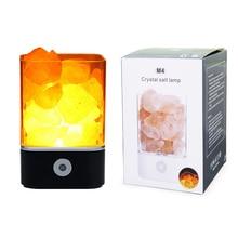 Himalayan Crystal Salt lamp Dimmable Night Light