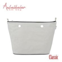 ANLAIBEIER Advanced Polyester Lining Zipper Pocket Inner Insert for Big Classic Obag AMbag O EVA Women