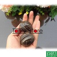 Großhandel und Einzelhandel Traditionelles Akupunktur-massage-werkzeug/Natürliche Bian-stein/Fitness ball/Massager/Verschrottung 2 teile/los