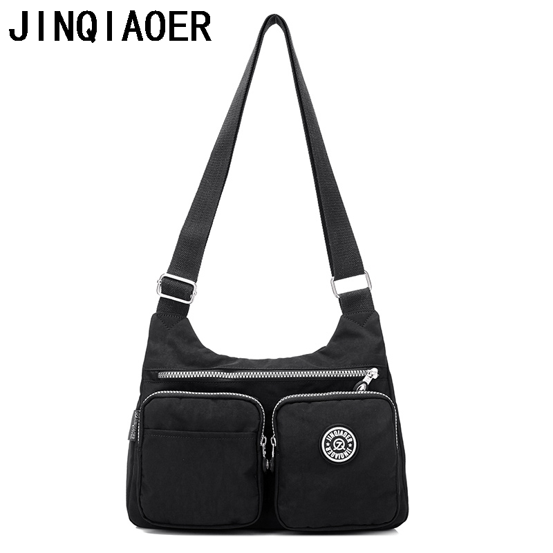 Women Small Messenger Bags for Women Waterproof Nylon Handbag Female Shoulder Bag Ladies Crossbody Bags bolsa sac a main купить