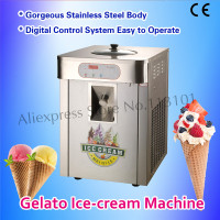 Gelato Maker Hard Ice Cream Machine Stainless Steel 18~20 liters/H Production Output