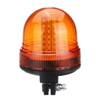 Safurance 60 LED Rotating Flashing Amber Beacon Flexible Tractor Warning Light Traffic Light Roadway Safety