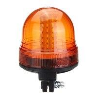 Safurance 60 LED Rotating Flashing Amber Beacon Flexible Tractor Warning Light Traffic Light Roadway Safety