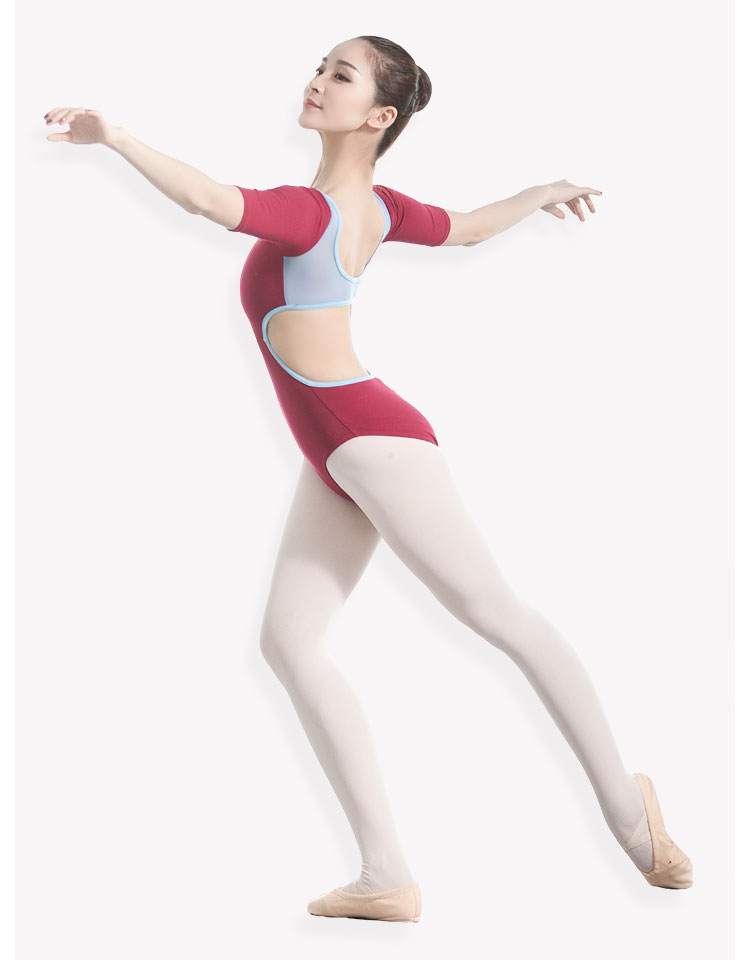 Compre Traje De Ballet Traje De Baile De Ballet Sexy Sin Espalda ...